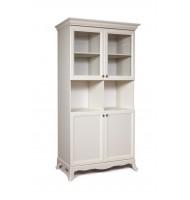 Шкаф 2-х дв. на ножках (две малые двери и два витража)